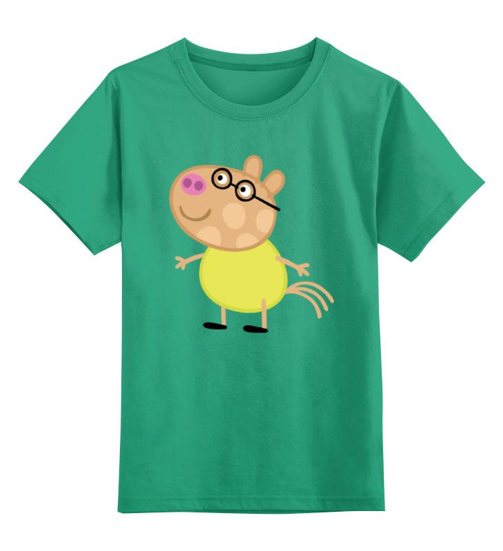 Детская футболка классическая унисекс Printio Peppa pig мягкие игрушки свинка пеппа peppa pig мама свинка королева 30 см