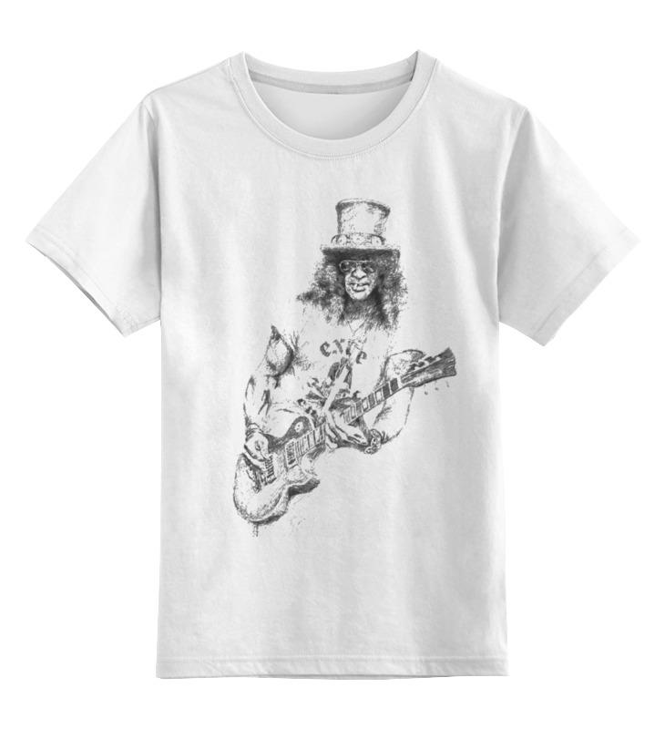 Детская футболка классическая унисекс Printio Slash slash rama