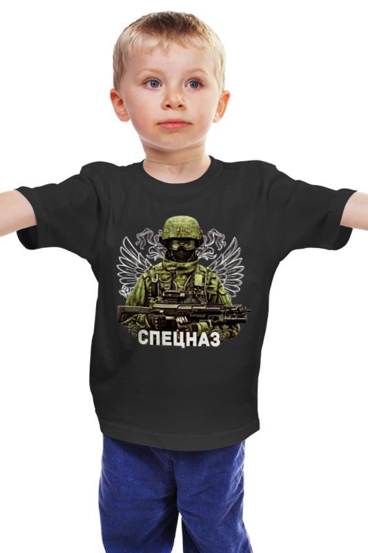 Детская футболка классическая унисекс Printio Спецназ