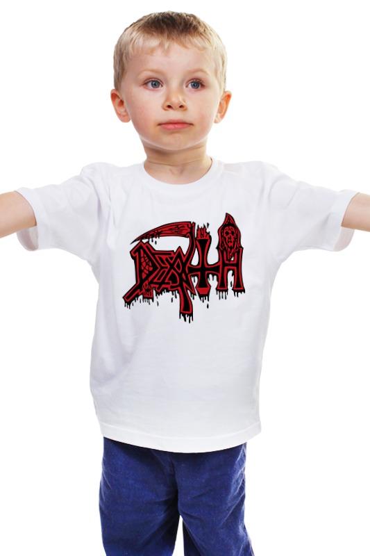 Детская футболка классическая унисекс Printio Death band детская футболка классическая унисекс printio death