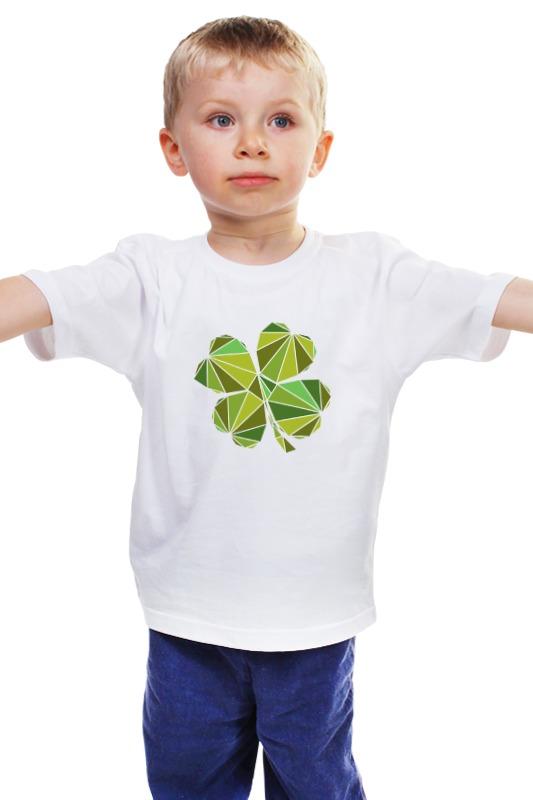 Детская футболка классическая унисекс Printio Клевер детская футболка классическая унисекс printio мачете