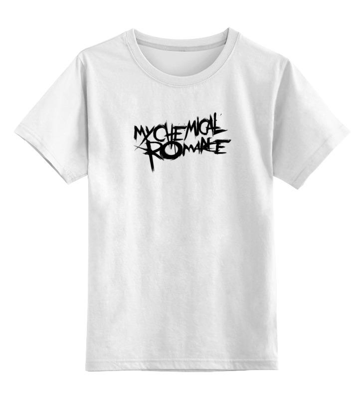 Детская футболка классическая унисекс Printio My chemical romance