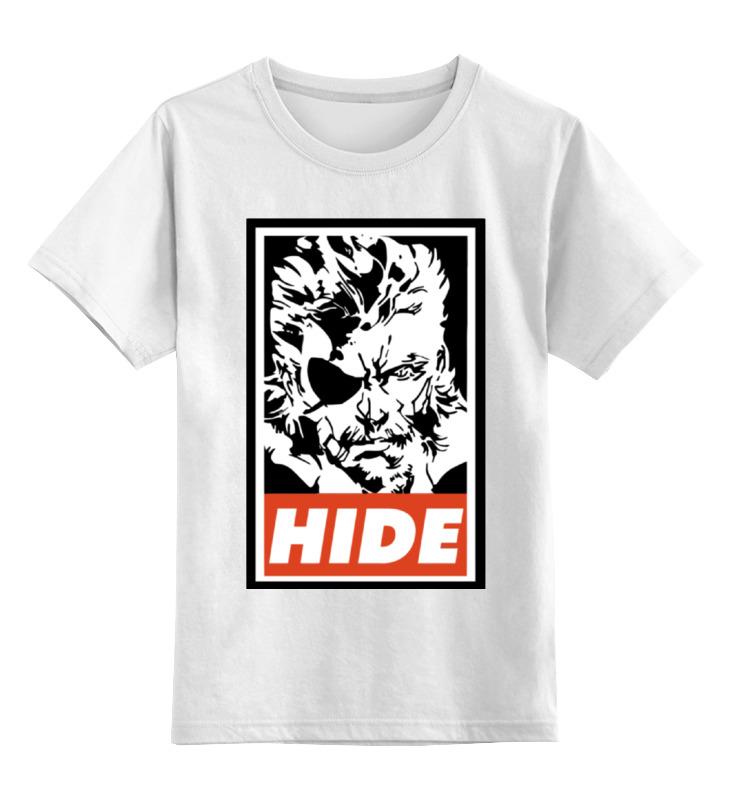Детская футболка классическая унисекс Printio Биг босс цена