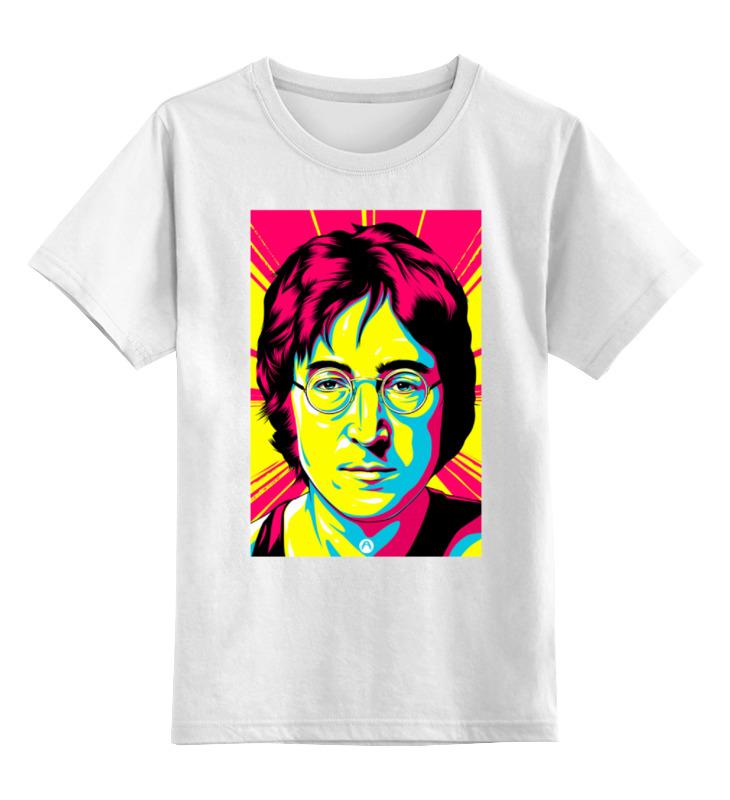 Детская футболка классическая унисекс Printio Джон леннон цена и фото