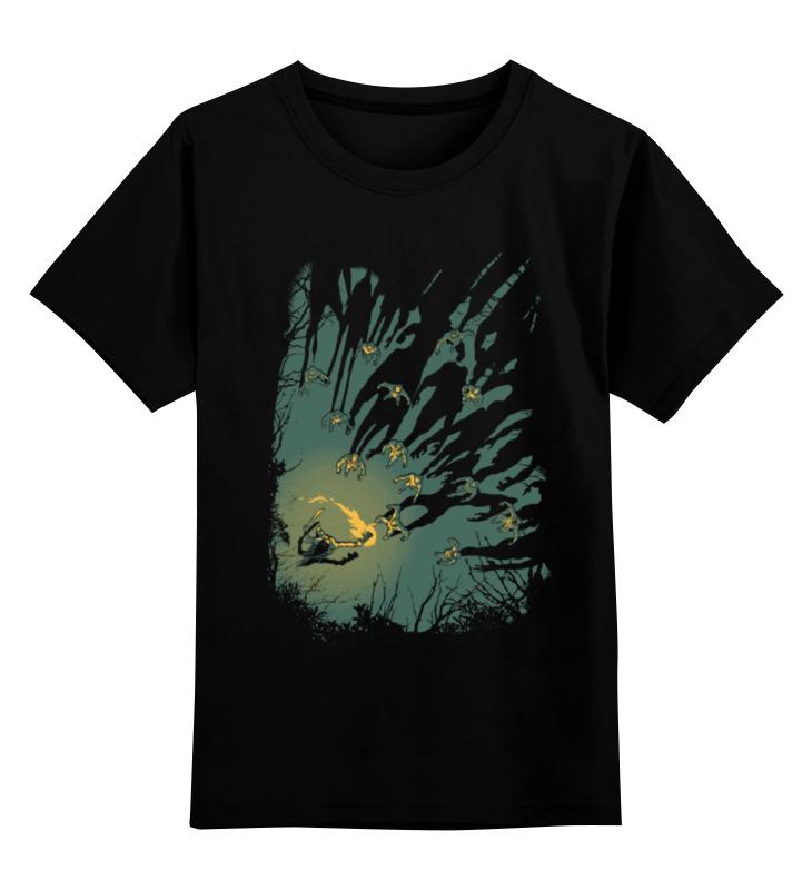 Детская футболка классическая унисекс Printio Зомби апокалипсис детская футболка классическая унисекс printio зомби россия