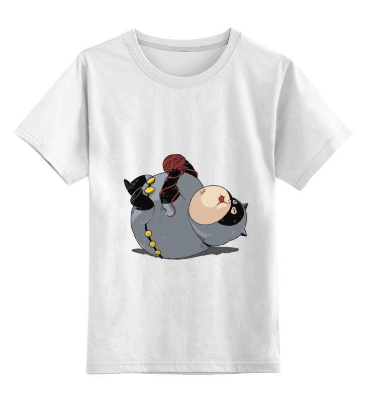 Детская футболка классическая унисекс Printio Fat catwoman детская футболка классическая унисекс printio fat catwoman