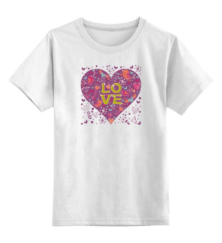 Printio День святого валентина детская футболка классическая унисекс printio день святого валентина