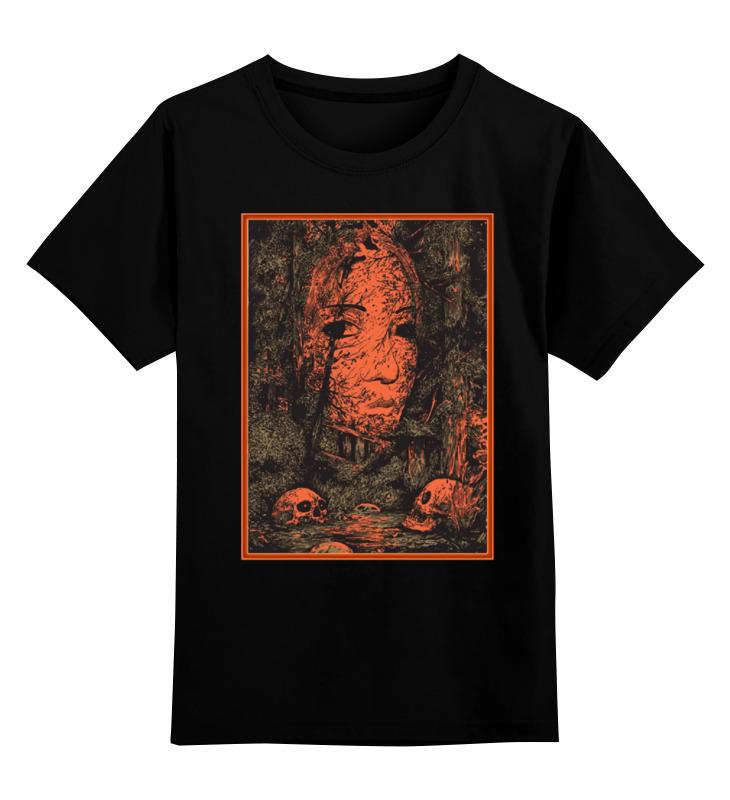 Фото Детская футболка классическая унисекс Printio Art horror persian art