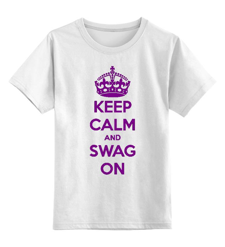 Детская футболка классическая унисекс Printio Keep calm футболка wearcraft premium printio keep calm