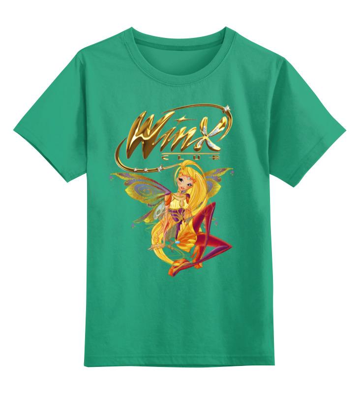 Детская футболка классическая унисекс Printio Winx club детская футболка классическая унисекс printio winx club