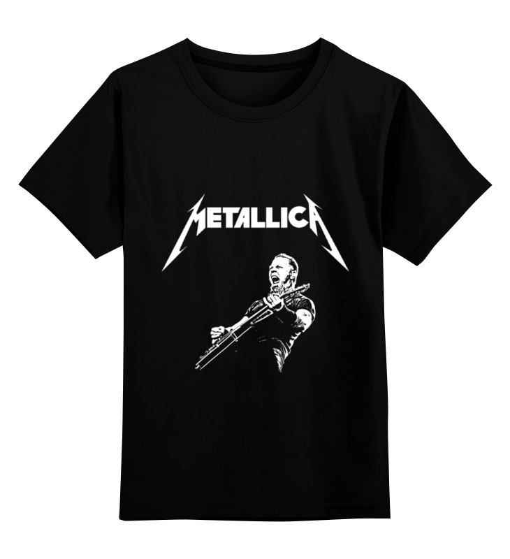 Детская футболка классическая унисекс Printio Metallica детская футболка классическая унисекс printio metallica  st anger