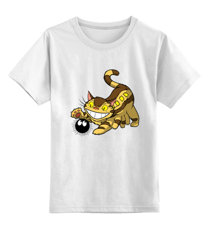 Детская футболка классическая унисекс Printio Чеширский кот детская футболка классическая унисекс printio мачете