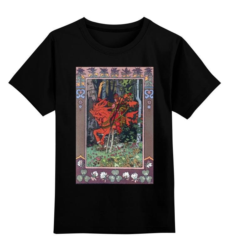 Детская футболка классическая унисекс Printio Красный всадник (иван билибин) воскресный день билибин живопись футляр великие полотна
