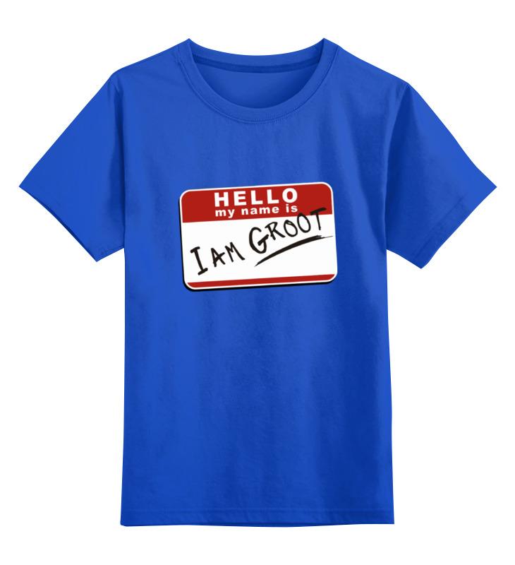 Детская футболка классическая унисекс Printio Я грут футболка классическая printio я покажу тебе мир