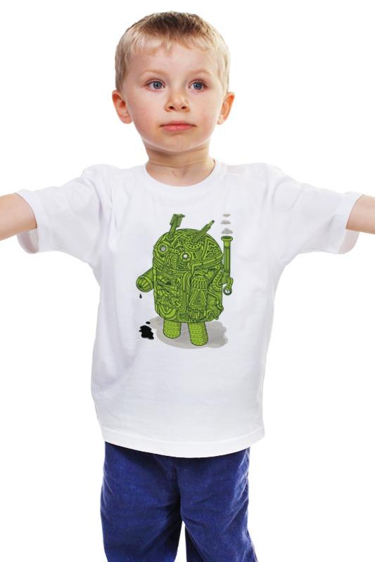 Детская футболка классическая унисекс Printio Андроид как купить программу на маркете андроид