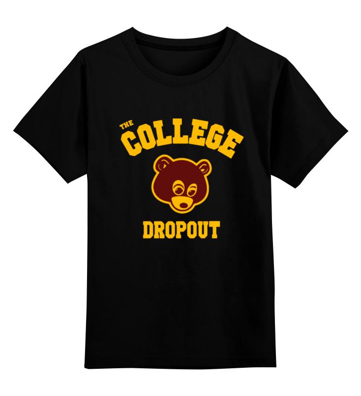 Фото Детская футболка классическая унисекс Printio The college dropout