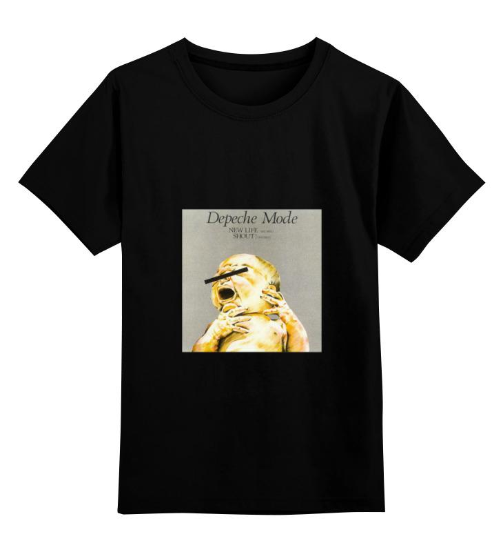 цена на Детская футболка классическая унисекс Printio Depeche mode