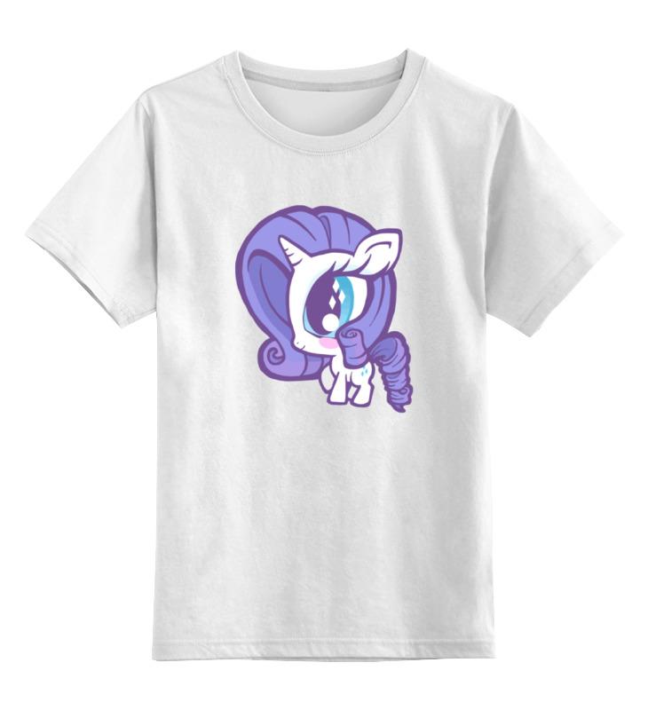 Детская футболка классическая унисекс Printio Моя маленькая пони антенный адаптер hama coax m f m 00122485