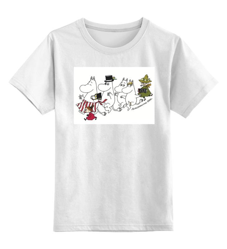 Детская футболка классическая унисекс Printio Муми-тролль и компания