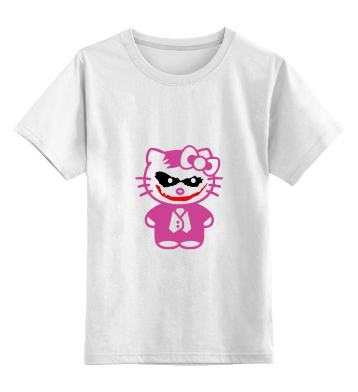 Детская футболка классическая унисекс Printio Hello kitty joker детская плюшевая игрушка hello kitty 7 kt kphk0016
