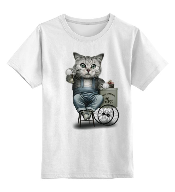 Детская футболка классическая унисекс Printio Продавец мороженого детская футболка классическая унисекс printio мачете