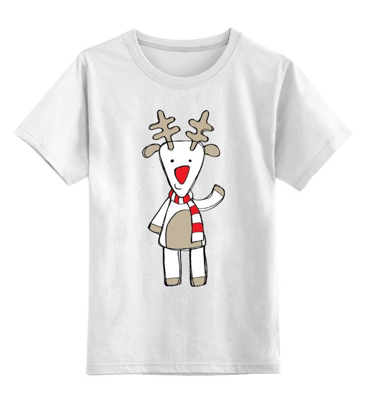 Детская футболка классическая унисекс Printio Новогодняя фуфайка фуфайка optop фуфайка
