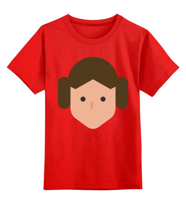 Детская футболка классическая унисекс Printio Лея органа чехол для iphone 6 plus объёмная печать printio лея органа