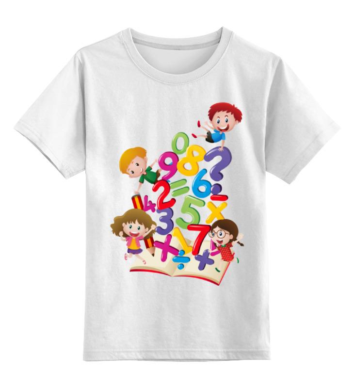 Детская футболка классическая унисекс Printio Школьная детская футболка классическая унисекс printio карандаш и самоделкин