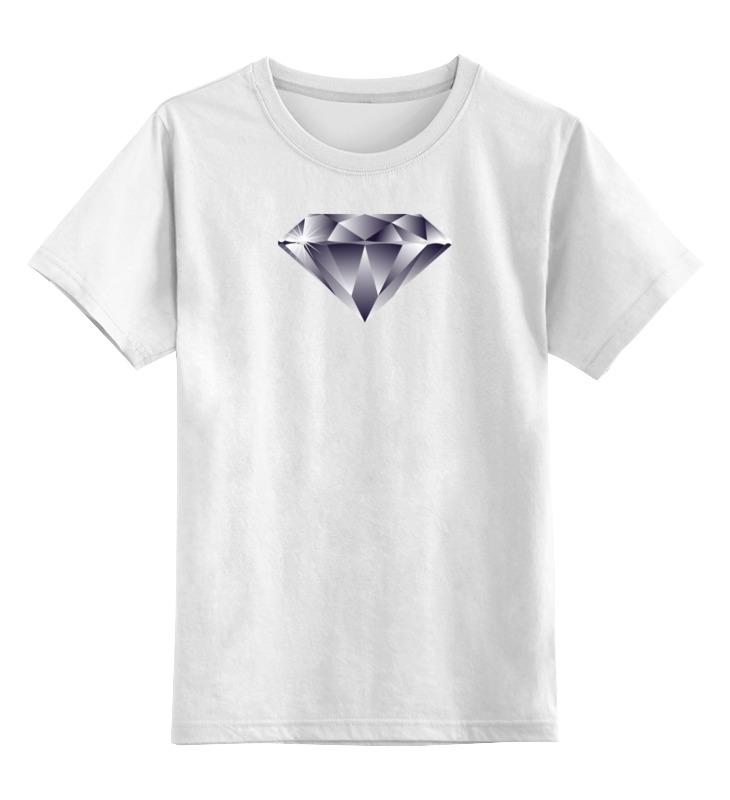 Детская футболка классическая унисекс Printio Алмаз алмаз алмаз 1020