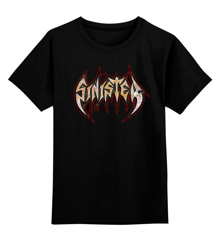 Детская футболка классическая унисекс Printio Sinister band