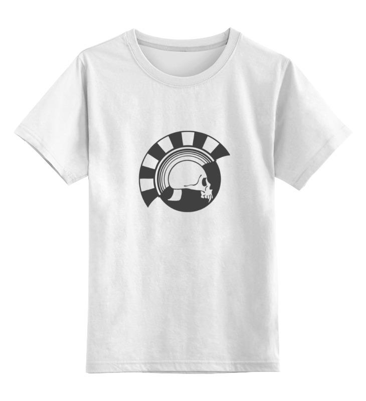 Детская футболка классическая унисекс Printio Череп детская футболка классическая унисекс printio череп жостово