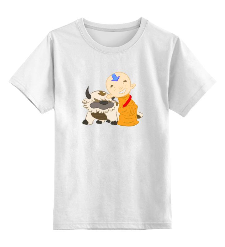 Детская футболка классическая унисекс Printio Аватар (легенда о корре)