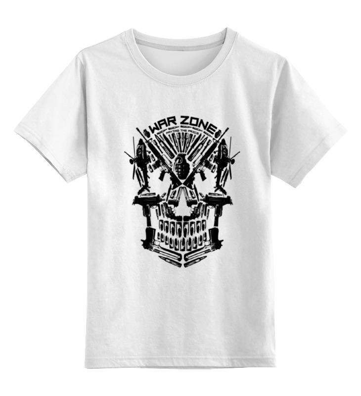 Детская футболка классическая унисекс Printio War zone майка борцовка print bar war zone