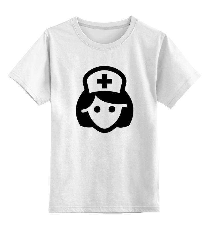 Детская футболка классическая унисекс Printio Медсестра майка классическая printio медсестра