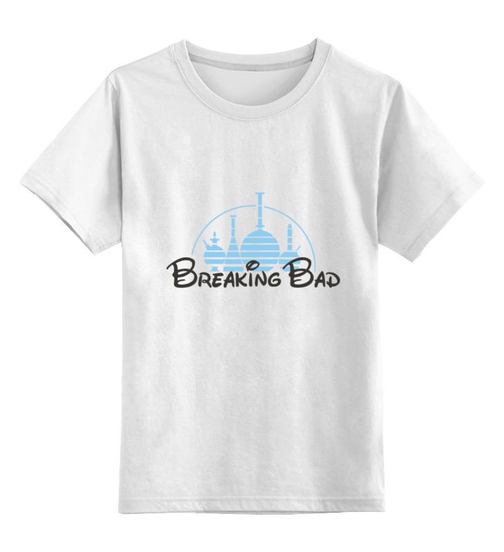 Детская футболка классическая унисекс Printio Breaking disney футболка рингер printio breaking disney