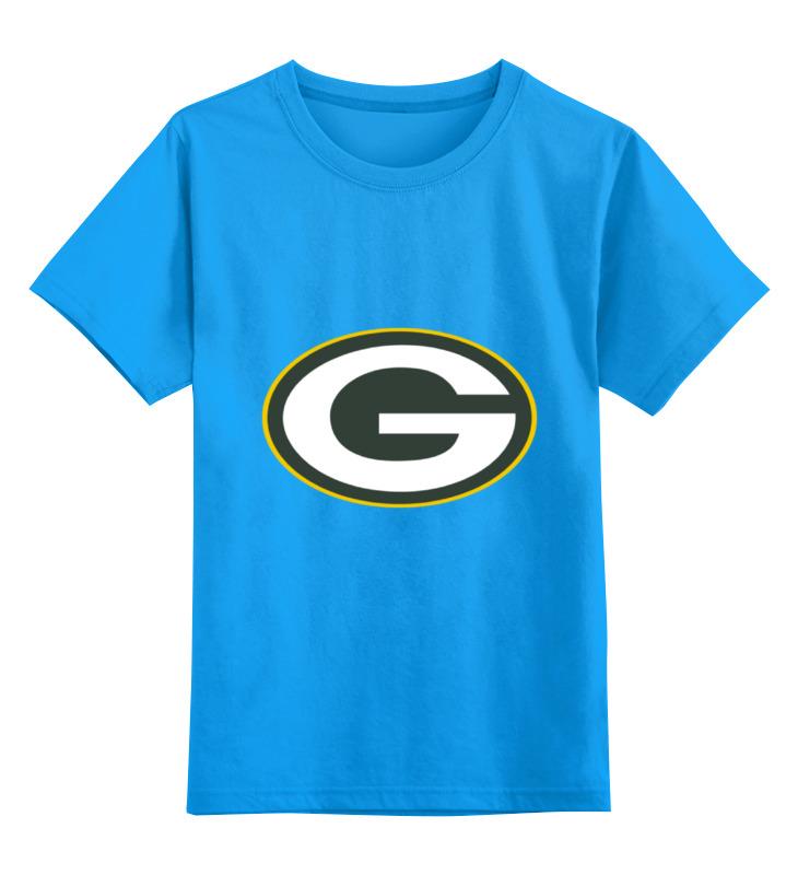 Детская футболка классическая унисекс Printio Green bay packers nickel bay nick