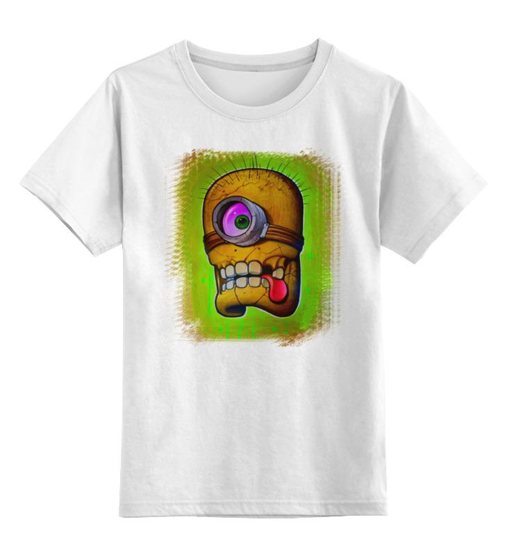 Детская футболка классическая унисекс Printio Skull minion детская футболка классическая унисекс printio skull trooper