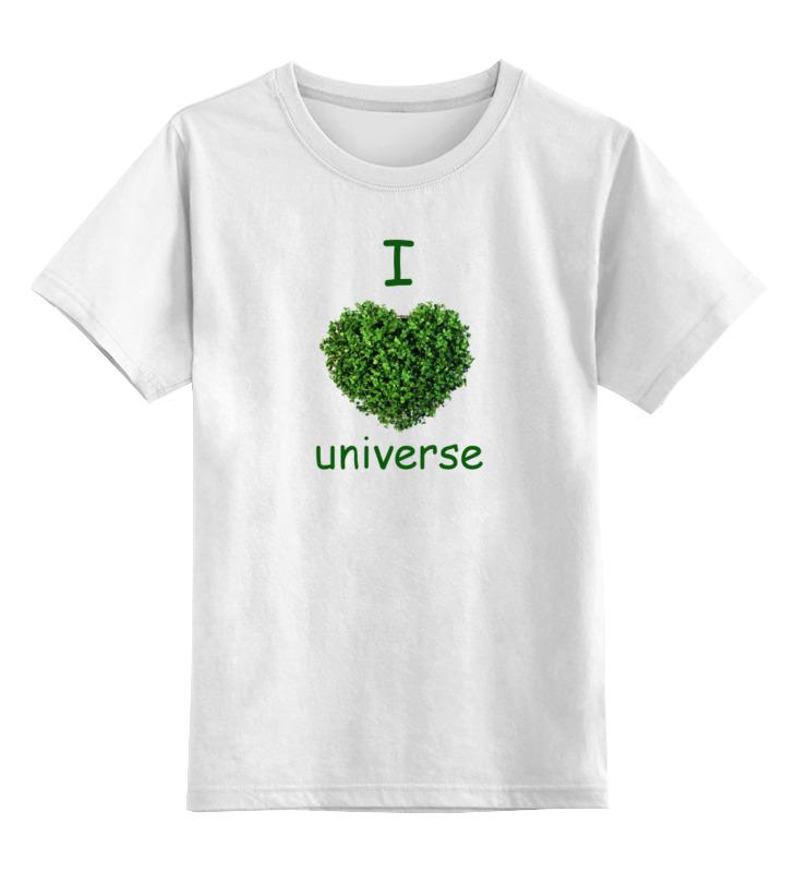 Детская футболка классическая унисекс Printio Сердце детская футболка классическая унисекс printio ты моя мамочка