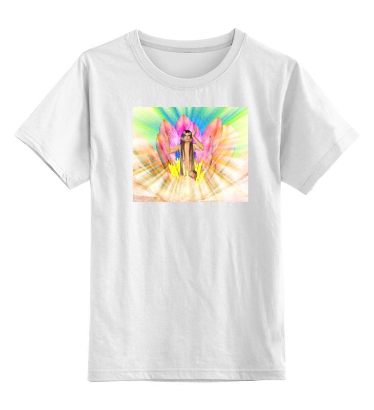 Детская футболка классическая унисекс Printio Рождение дюймовочки виктор елисеевич дьяков рождение чувств