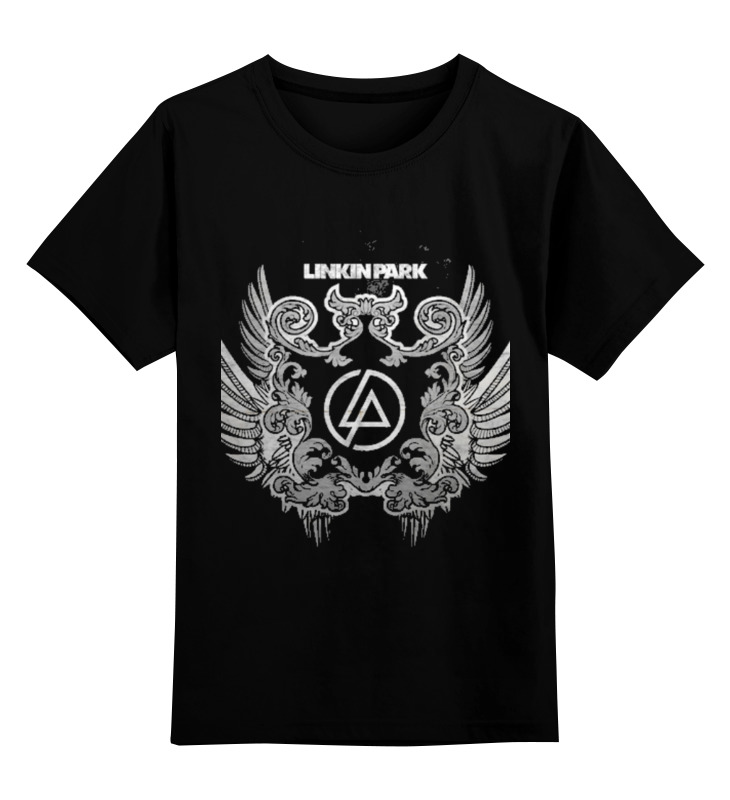 Детская футболка классическая унисекс Printio Linkin park - logo майка классическая printio linkin park burning in the skies