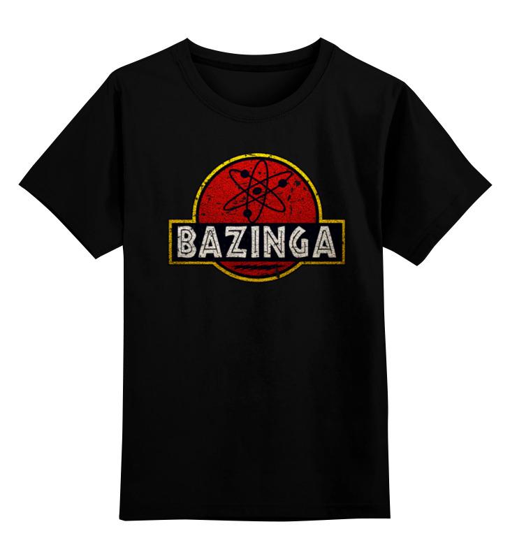 Детская футболка классическая унисекс Printio Bazinga! детская футболка классическая унисекс printio sheldon bazinga