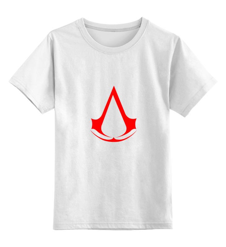 Детская футболка классическая унисекс Printio Assassins creed (logo)