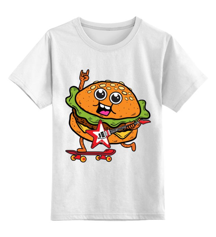 Printio Гамбургер с гитарой детская футболка классическая унисекс printio штурмовик с гитарой