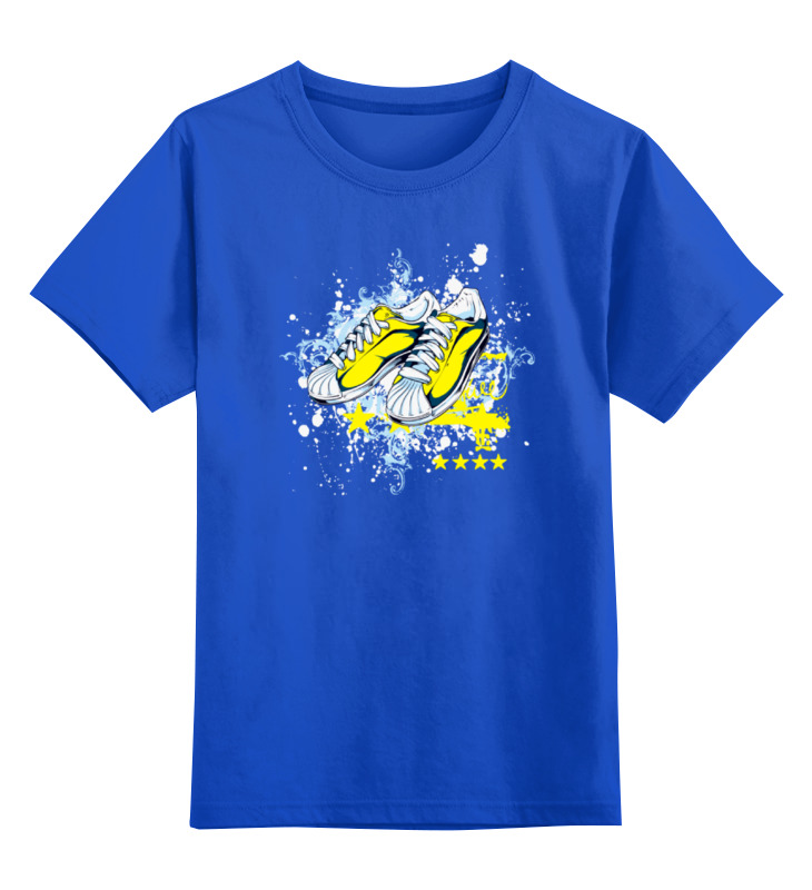 Детская футболка классическая унисекс Printio Спортивная обувь