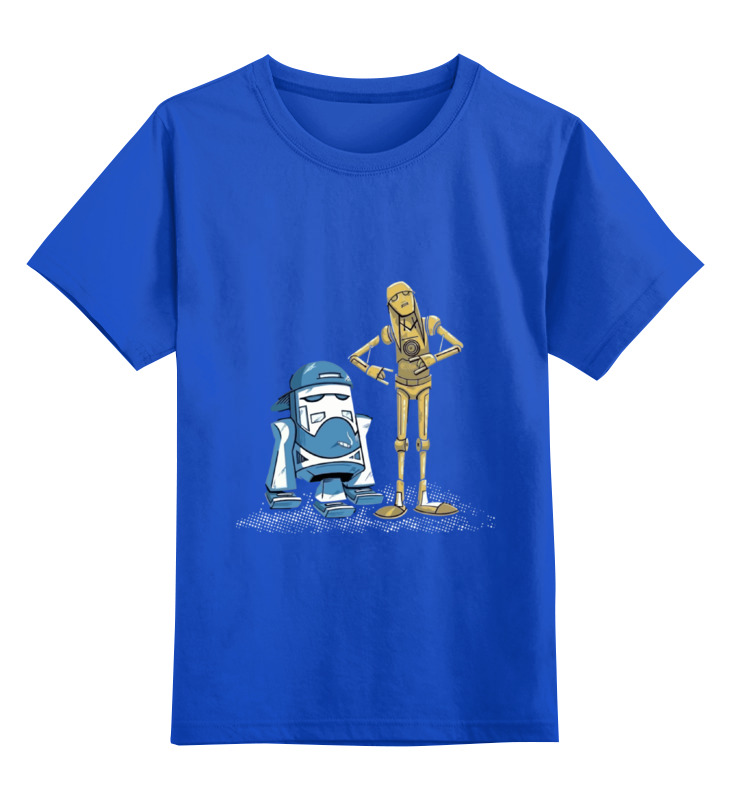все цены на Детская футболка классическая унисекс Printio Джей и молчаливый боб star wars онлайн