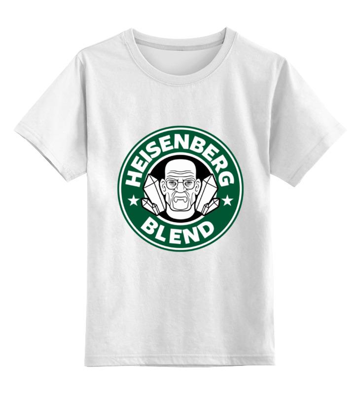 Детская футболка классическая унисекс Printio Heisenberg blend детская футболка классическая унисекс printio мачете