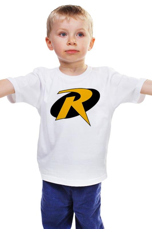 Детская футболка классическая унисекс Printio Робин детская футболка классическая унисекс printio бэтмен и робин