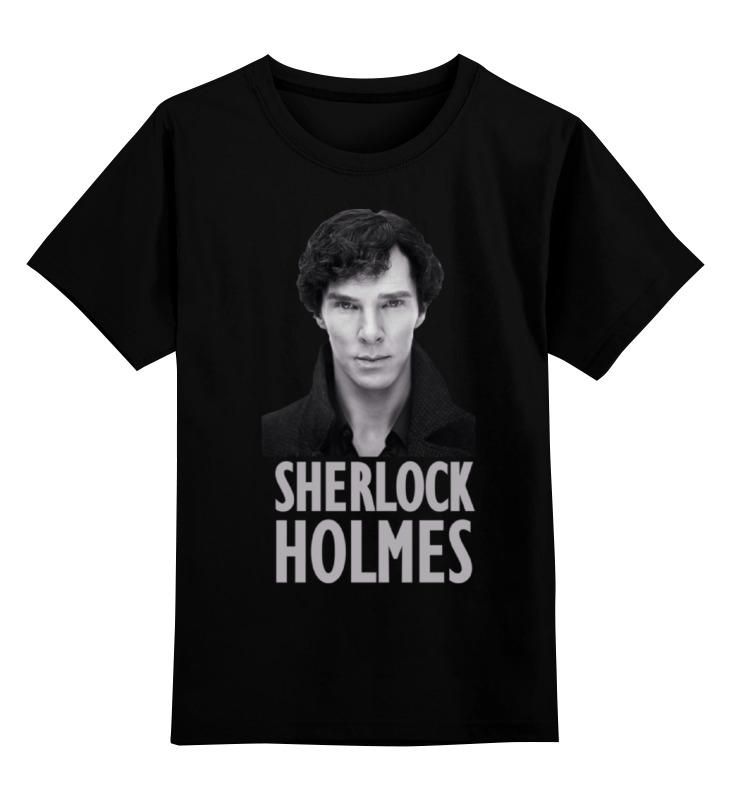 Детская футболка классическая унисекс Printio Sherlock holmes дойл а приключения шерлока холмса the adventures of sherlock holmes