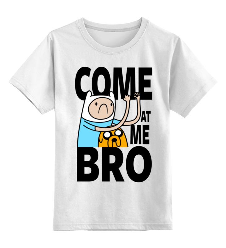 Детская футболка классическая унисекс Printio Финн и джейк детская футболка классическая унисекс printio финн и джейк время приключений