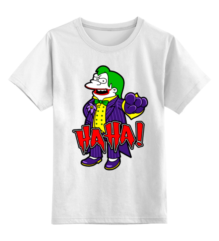 Детская футболка классическая унисекс Printio Haha! детская футболка классическая унисекс printio соник